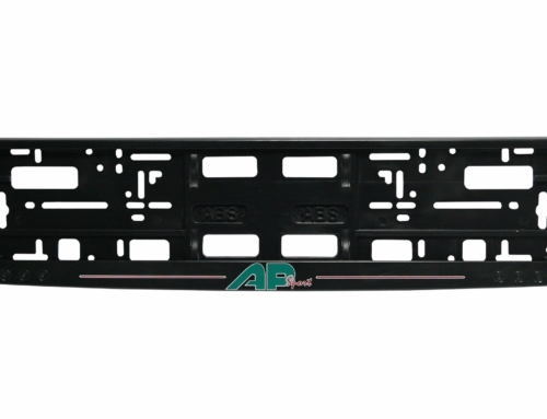 Licence Plate Frame – MODEL II – Screen printing – Black – 174GP