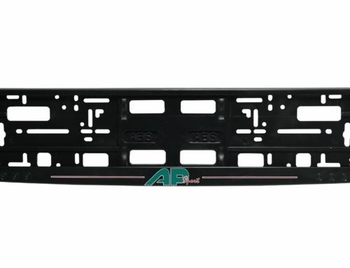 Licence Plate Frame – MODEL II – Screen printing – Black – 174GP